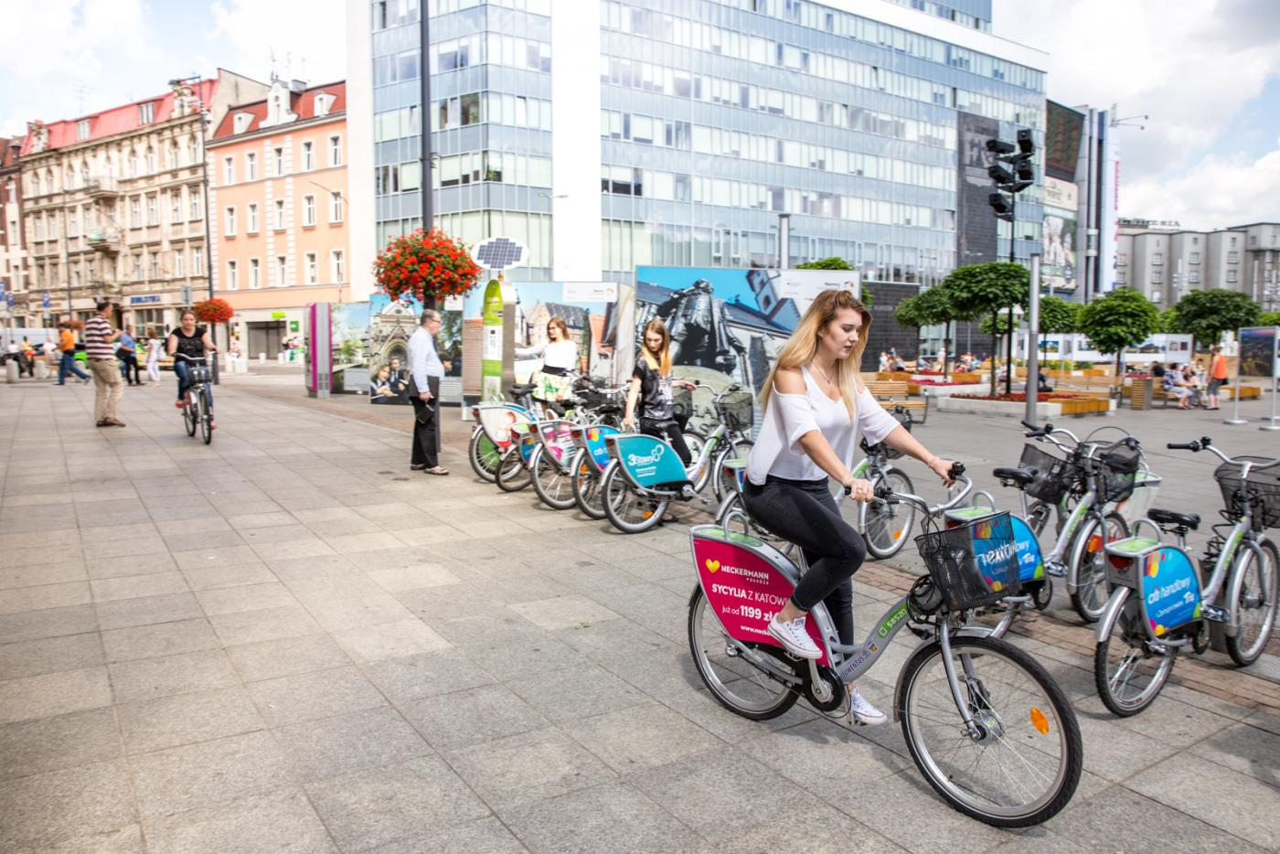 Rekordowy sezon rowerowy w Katowicach!