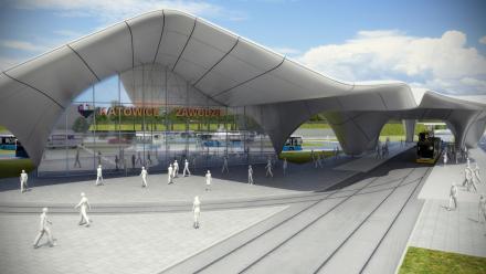 Rusza budowa centrum przesiadkowego w Zawodziu