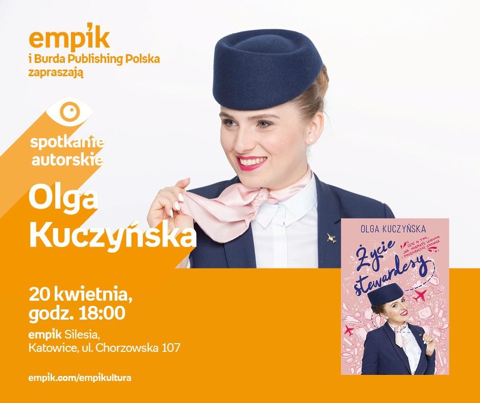 Spotkanie autorskie z Olgą Kuczyńską