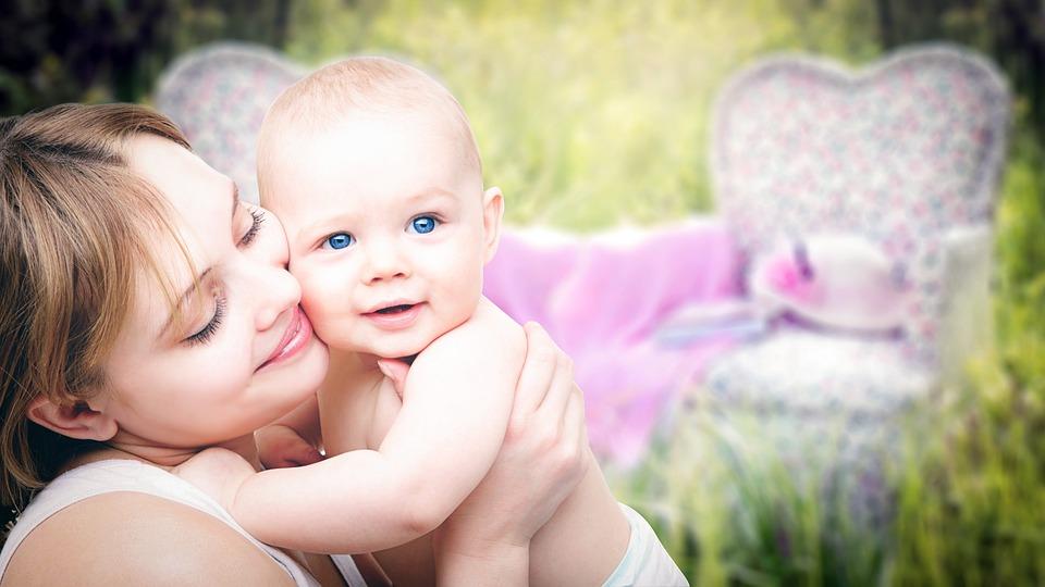Zdrowa matka i dziecko