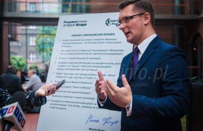 Prezydent Katowic nielegalnie rozwiązał Marsz Powstańców
