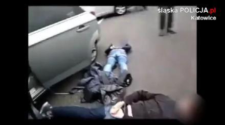 Rozbili zorganizowaną grupę przestępczą złodziei samochodów