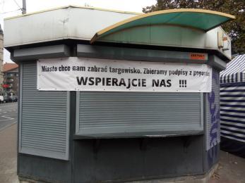 Czy targowisko na pl. Synagogi zniknie?