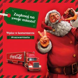Świąteczna ciężarówka Coca-Coli w Katowicach?