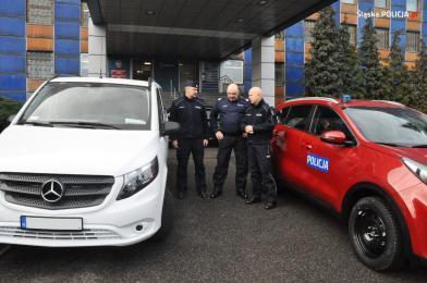 Wysokiej klasy samochody trafiły do śląskiej policji przed COP24