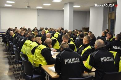 Policjanci z całej Polski wspierają śląską drogówkę podczas COP24