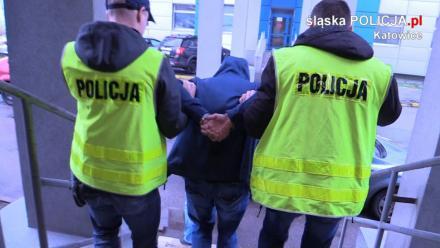 8 pseudokibiców podejrzanych o napaść na stoisko GKS Katowice w rękach policji