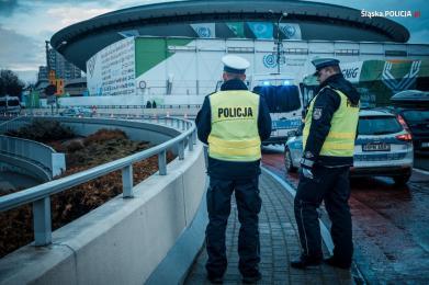 Policyjne oddziały prewencji zabezpieczają szczyt klimatyczny COP24