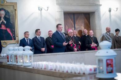 Katowicka Kuria Metropolitalna zorganizowała spotkanie przedświąteczne