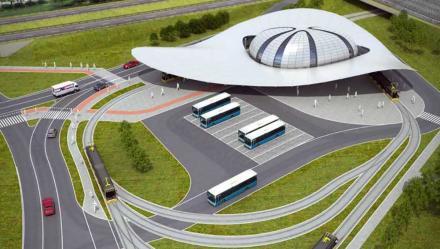 Nowy etap prac przy centrum przesiadkowym na Brynowie