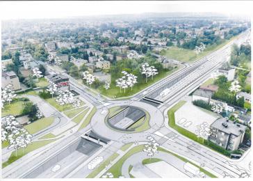 Trwa przebudowa wąskich gardeł na DK81 w Katowicach - informacje z placów budowy