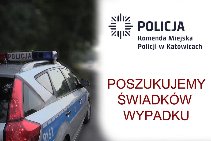 Policja szuka świadków wypadku przy ul. Leopolda
