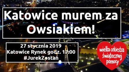 Katowice #muremzaOwsiakiem!