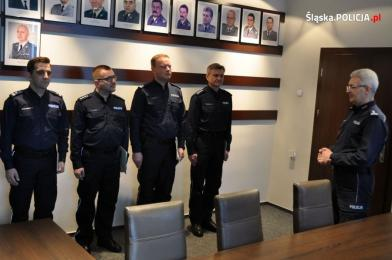 Awanse na stanowiska kierownicze w śląskiej policji