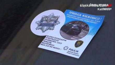 Parkujmy z głową. Policjanci i strażnicy przeprowadzili kolejną akcję w Katowicach