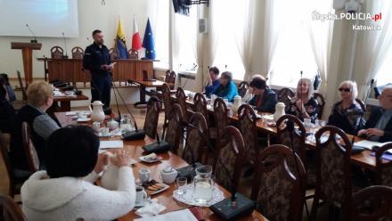 Współpraca policjantów z katowicką Radą Seniorów