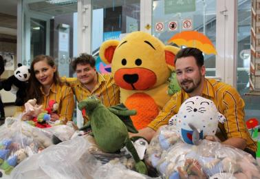 300 pluszaków dla małych pacjentów Górnośląskiego Centrum Zdrowia Dziecka