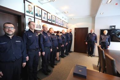 Śląsk: Nowi szefowie śląskich jednostek oraz wydziałów KWP