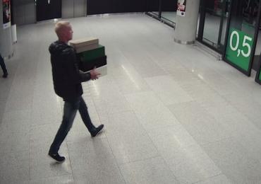 Katowice: Ukradł buty. Nagrały go kamery monitoringu