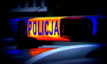 Wypadek policji! [WIDEO] Radiowóz wypadł z drogi i wylądował na ogrodzeniu!