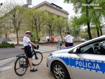 W Katowicach ponownie pojawiły się patrole rowerowe