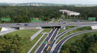 Przebudowa DK81 w Katowicach - od 27 maja duże zmiany w organizacji ruchu