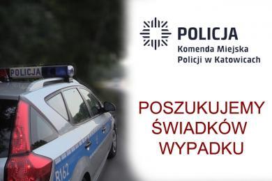 Katowice: Policjanci szukają świadków śmiertelnego wypadku