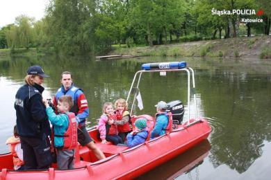 """""""Bezpieczny Maluch"""" z wizytą u ratowników wodnych"""