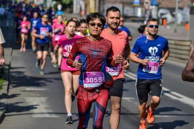 Wizz Air Katowice Half Marathon 2019 - tysiące biegaczy w Katowicach [ZDJĘCIA]