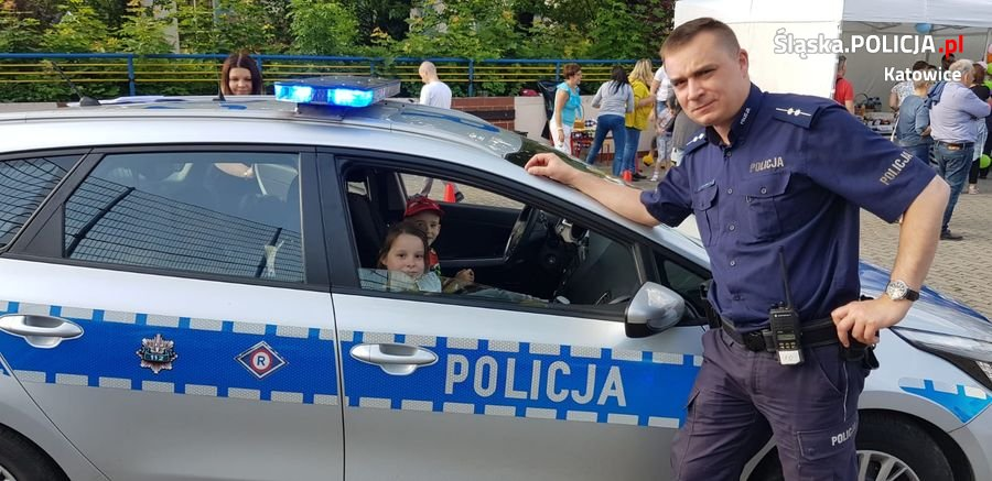 Dzielnicowi spotkali się z mieszkańcami na festynie