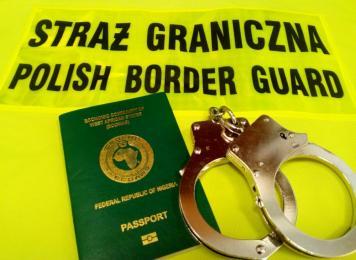Funkcjonariusze Straży Granicznej zatrzymali obywatelkę Nigerii