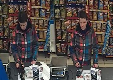 Sprawcę kradzieży zarejestrowały kamery. Rozpoznajesz osobę ze zdjęć?