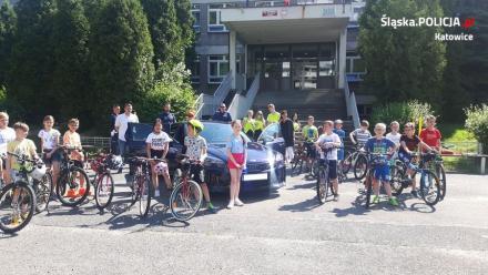 """Młodzi rowerzyści zdobyli swoje pierwsze """"prawo jazdy"""""""
