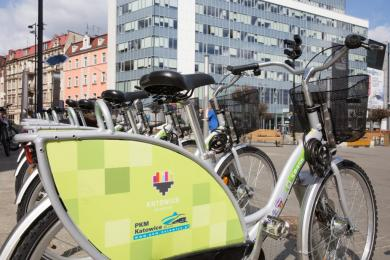 Katowiczanie pokochali rowery miejskie 