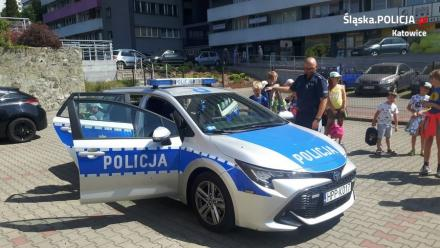 """""""Bezpieczne wakacje"""" z dzielnicowymi z Katowic"""