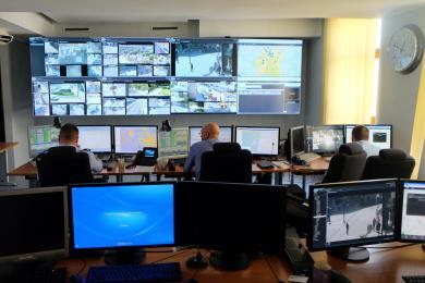 38 nowych kamer monitoringu miejskiego działa w ośmiu dzielnicach Katowic