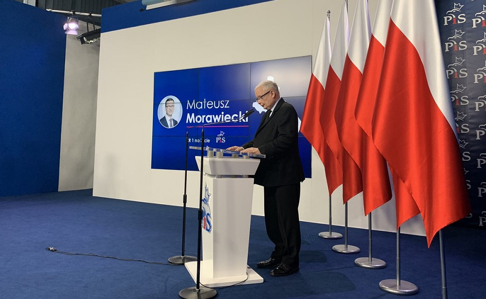 """Premier Mateusz Morawiecki """"jedynką"""" PiS-u w Katowicach"""