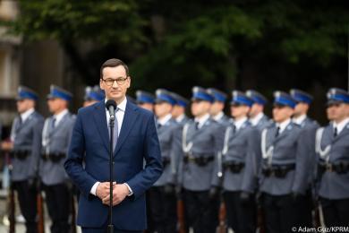 Premier Mateusz Morawiecki zabrał głos po wielkiej ulewie na Śląsku