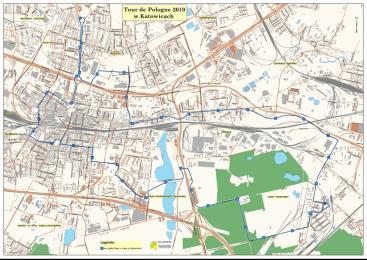 76. Tour de Pologne w Katowicach. Będą utrudnienia
