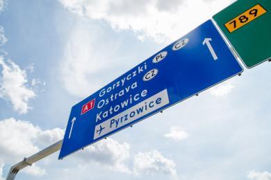 Odcinek autostrady A1 z Pyrzowic do węzła Częstochowa-Południe został oddany do użytku