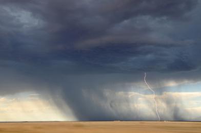 Katowice: Ostrzeżenie meteorologiczne - burze