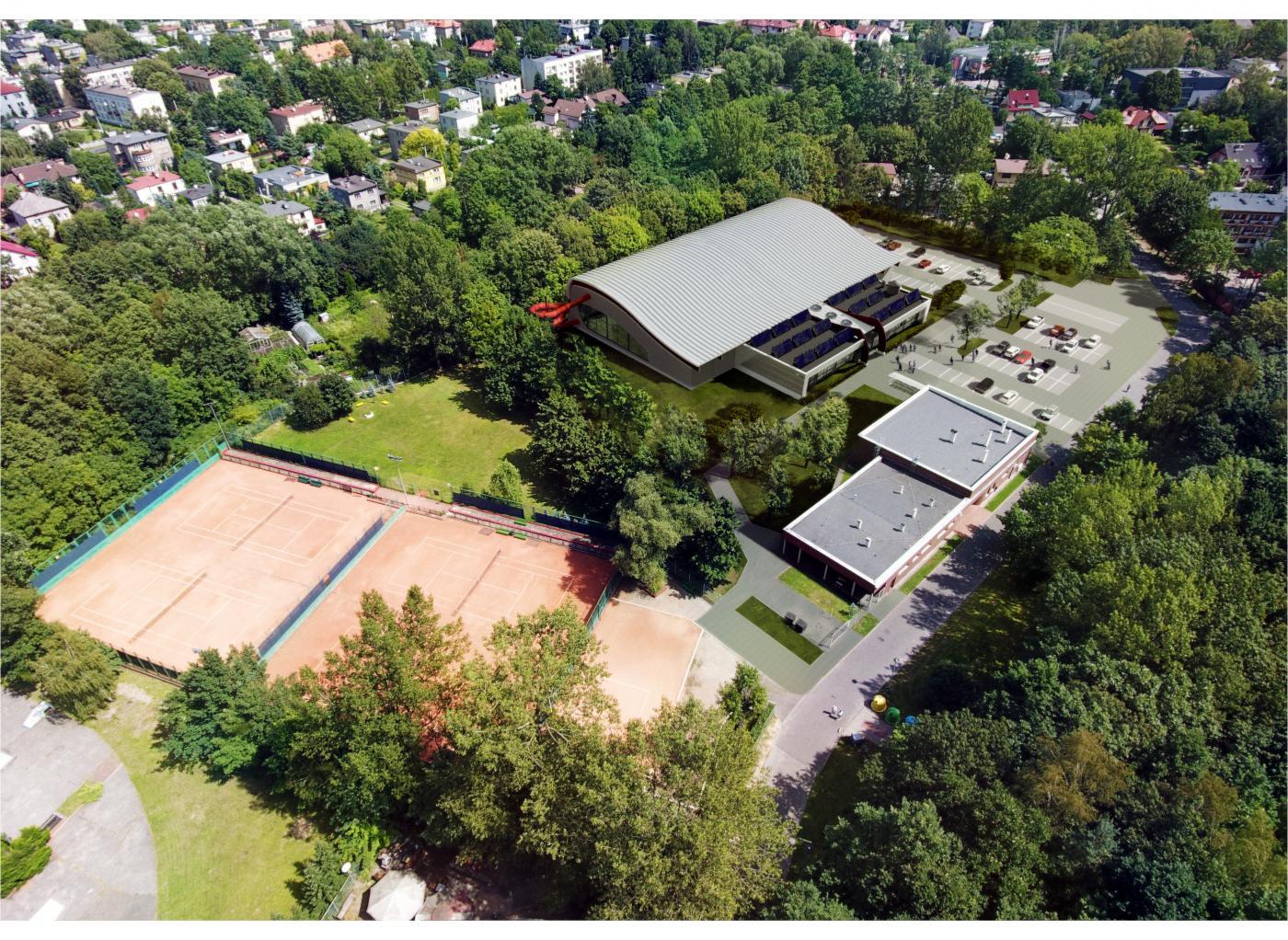 W Katowicach trwa budowa trzech kompleksów basenowych z salami sportowymi