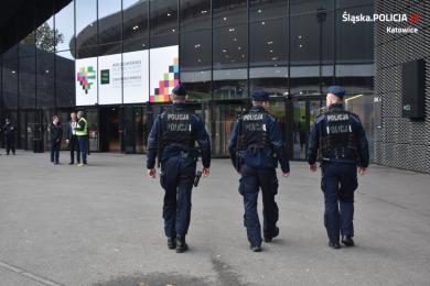 Katowiccy policjanci zabezpieczają Światową Konferencję Antydopingową WADA 2019