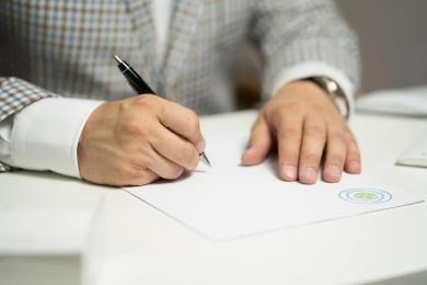 Podpisanie umowy o dofinansowanie projektu dot. gospodarowania wodami opadowymi