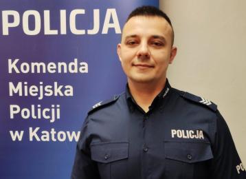sierż. szt. Michał Filus nowym dzielnicowym obsługującym rejon służbowy nr 9