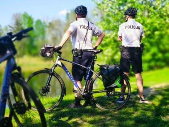 Katowice: Policyjne patrole rowerowe wyruszyły w miasto