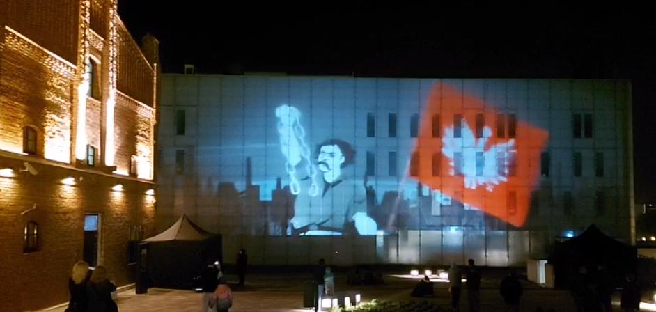 Noc Muzeów 2021 za nami. Jedną z atrakcji w Katowicach był historyczny mapping