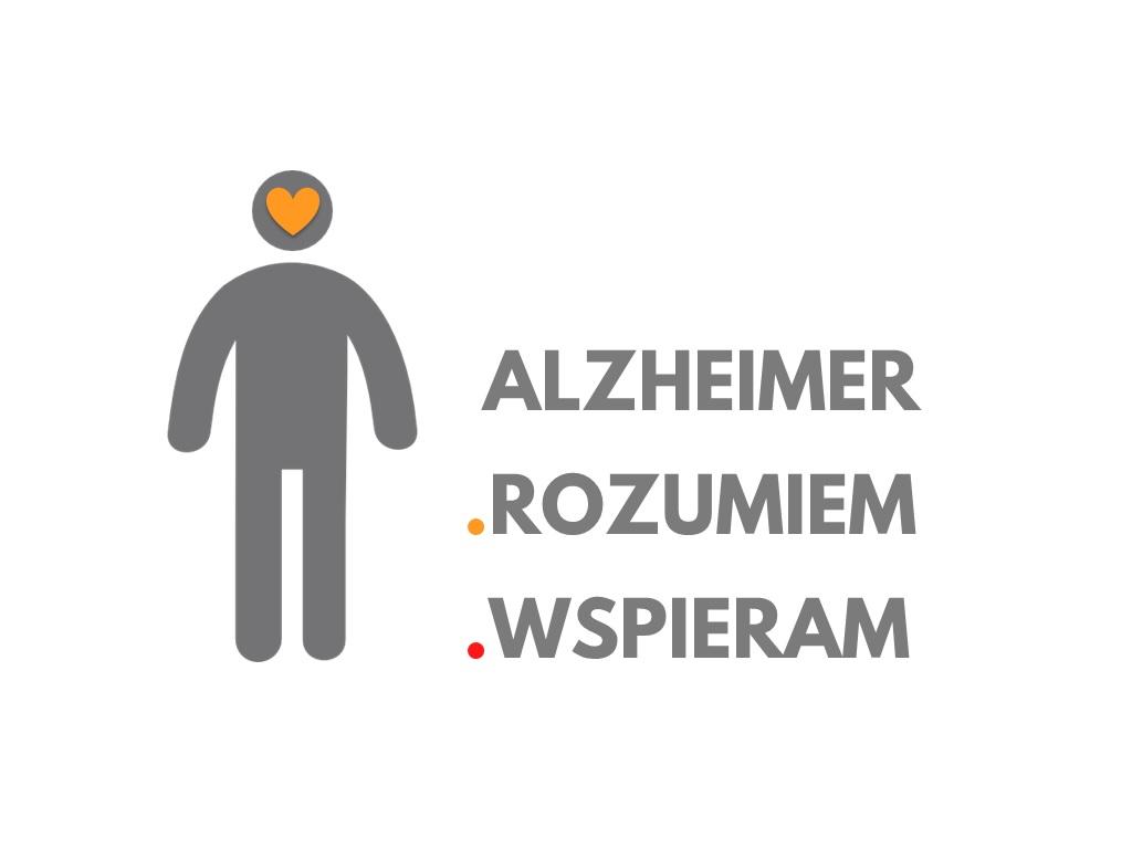 """Kampania informacyjno - edukacyjna pn. """"Alzheimer - rozumiem - wspieram"""""""