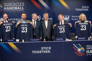 Woj. śląskie oraz miasto Katowice będą gospodarzami mistrzostw świat w piłce ręcznej