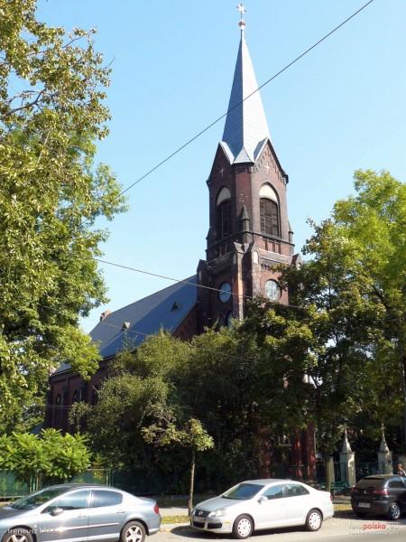 ewangelicko-augsburska Szopienice - Kościół Zbawiciela